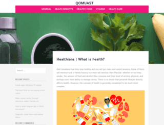 qomuast.com screenshot