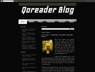 qoreader.com screenshot