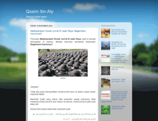 qosimaly.blogspot.com screenshot