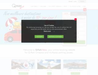 qpark-charleroiairport.be screenshot