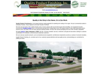 qpfinishing.com screenshot