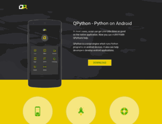 qpython.com screenshot