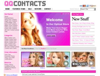 qqcontacts.com screenshot
