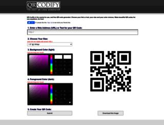 qrcodify.com screenshot