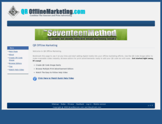qrofflinemarketing.com screenshot