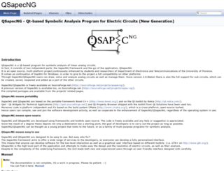 qsapecng.sourceforge.net screenshot