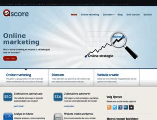 qscore.nl screenshot
