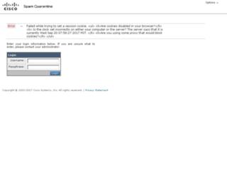 qspam.webtrix.net screenshot