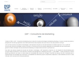 qspmarketing.pt screenshot