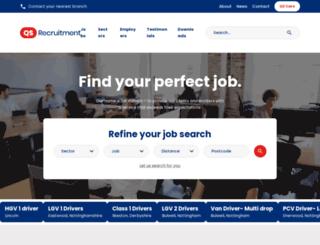 qsrecruitment.co.uk screenshot