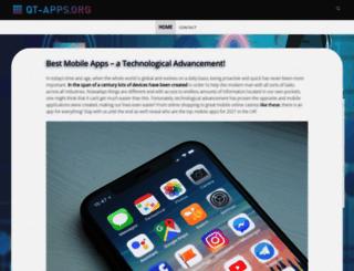 qt-apps.org screenshot