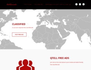 qtellfreeads.com screenshot