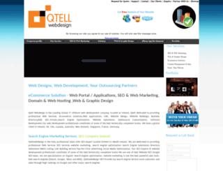 qtellwebdesign.com screenshot