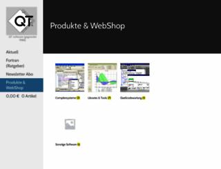 qtsoftware.com screenshot