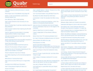 quabr.net screenshot