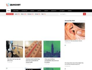 quacast.com screenshot