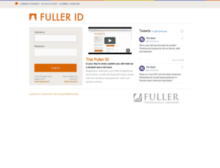 quad.fuller.edu screenshot
