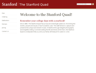 quad.stanford.edu screenshot