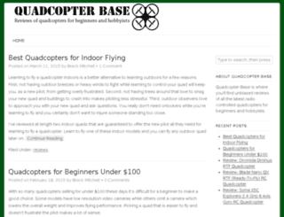 quadcopterbase.com screenshot