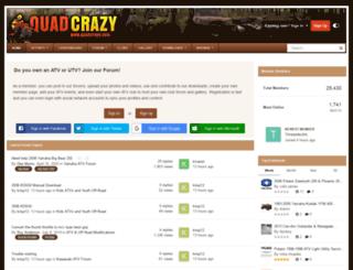 quadcrazy.com screenshot