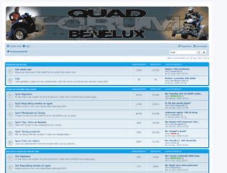 quadforumbenelux.com screenshot