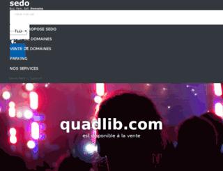 quadlib.com screenshot