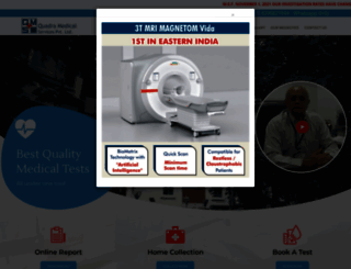 quadradiagnostics.com screenshot