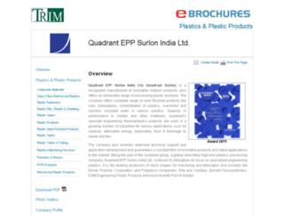 quadrant-epp-surlon.industrialregister.in screenshot