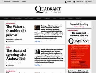 quadrant.org.au screenshot