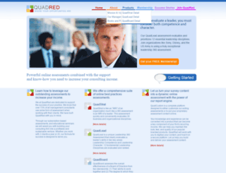 quadred.com screenshot