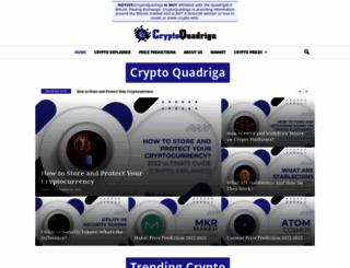 quadrigacx.com screenshot