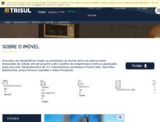 quadrilaterosp.com.br screenshot