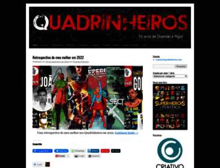 quadrinheiros.com screenshot