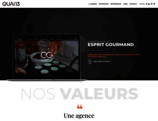quai13.com screenshot