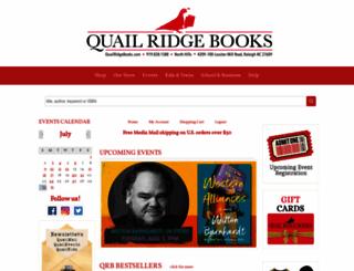 quailridgebooks.com screenshot