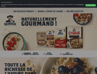 quaker.fr screenshot