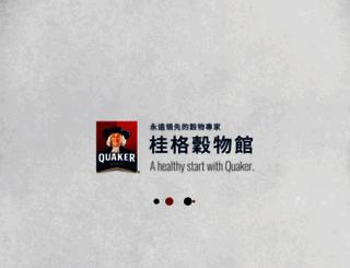 quakercereal.sfworldwide.com screenshot