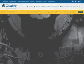 quakerchem.com screenshot