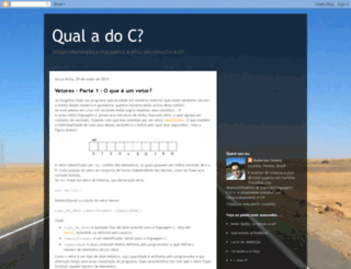 qualadoce.blogspot.com.br screenshot