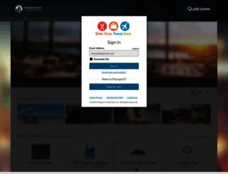 qualcomm.passportcorporate.com screenshot