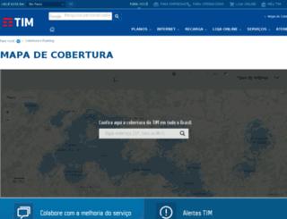 qualidade.tim.com.br screenshot