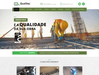 qualitec.eng.br screenshot