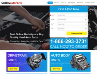 qualityautoparts.com screenshot