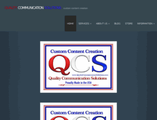 qualitycommunicationsolutions.com screenshot