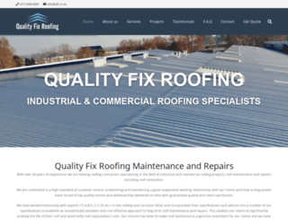 qualityfixroofing.co.za screenshot