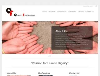 qualityfundraising.com.au screenshot