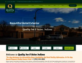qualityinnindianapa.com screenshot