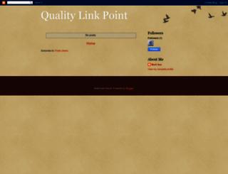 qualitylinkpoint.blogspot.com screenshot