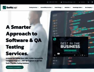 qualitylogic.com screenshot
