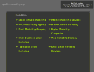 qualitymarketing.org screenshot